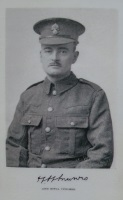 H H Munro in uniform of 2nd Royal Fusiliers